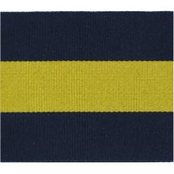 Princess Of Wales's Royal Regiment Blue/Yellow/Blue  Ribbon Badge Backing