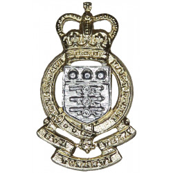Royal Army Ordnance Corps FL - 1952-1993 with Queen Elizabeth's Crown. Anodised Staybrite collar badge