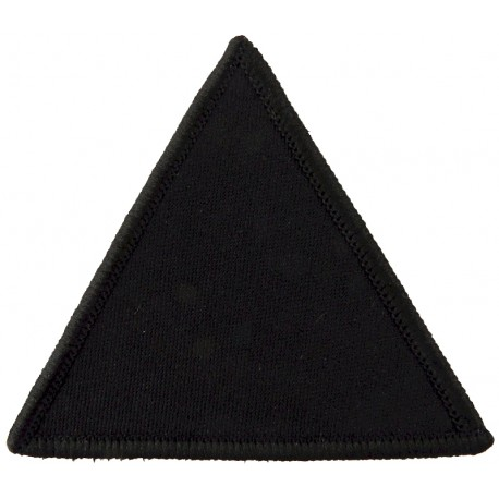 5 Airborne Brigade - Gurkha Infantry Battalion Black Triangle  Woven Parachute DZ (Drop-Zone) Patch
