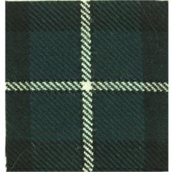 V (Liverpool Scottish) Company 5th/8th Bn Kings Regt Forbes Tartan  Tartan Badge Backing