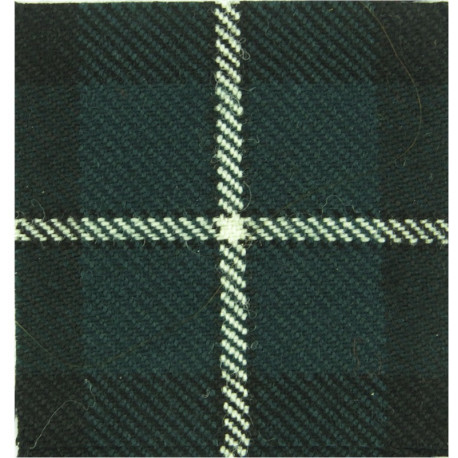 Cameronians (Scottish Rifles) (75mm Square) Douglas Tartan  Tartan Badge Backing