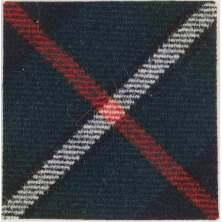 Manchester & Salford Universities OTC 45mm Red Square  Felt Badge Backing