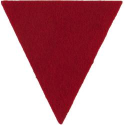 Royal Gloucestershire Berkshire & Wiltshire Regiment Large Beret Triangle  Felt Badge Backing