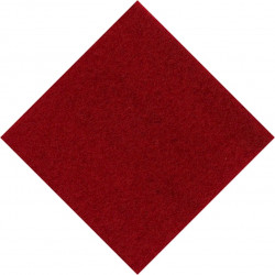 Duke Of Edinburgh's Royal Regiment Small Red Triangle Felt Cap Badge Backing