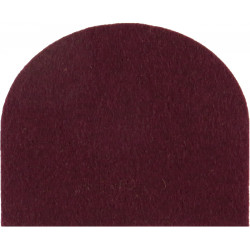 Royal Hussars & King's Royal Hussars Crimson Dome-Shape  Felt Badge Backing