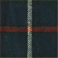 Glasgow & Strathclyde Universities OTC (75mm Square) Mackenzie (Vertical)  Tartan Badge Backing