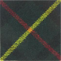 Tayforth Universities Officers Training Corps Hunting Stewart  Tartan Badge Backing