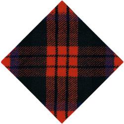 153 (Highland) Regiment Royal Corps Of Transport MacDuff Diamond  Tartan Badge Backing