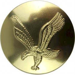 Army Air Corps (without Crown - Not In Ripley) 26.5mm - Gold Colour  Anodised Staybrite military uniform button