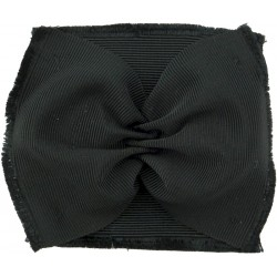 Black Watch & Other Scottish Glengarry Badges Black Ribbon Rosette  Silk Badge Backing