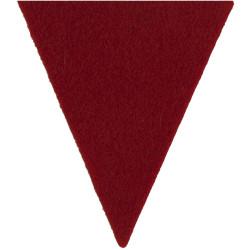 Duke Of Edinburgh's Royal Regiment Small Red Triangle  Felt Badge Backing