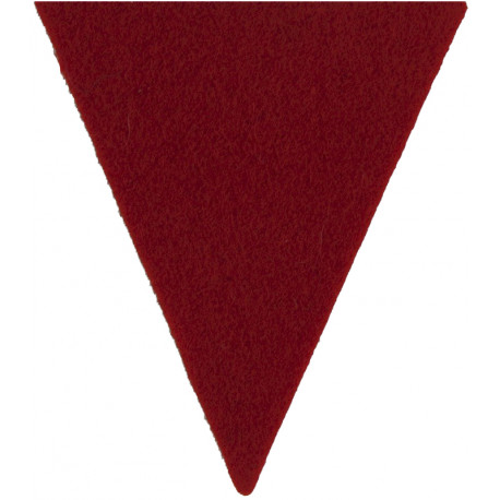 Yorkshire Regiment (14th/15th, 19th & 33rd/76th) Dark Green Rectangle  Felt Badge Backing