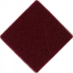 Royal Dragoon Guards For Officers & WO's Beret 3cm Maroon Diamond  Felt Badge Backing