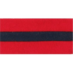 Honourable Artillery Company Hat Band - 9.5cm Length For Badge Display  Felt Badge Backing