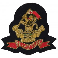 Gloucestershire Rifle Association   Embroidered Military Blazer Badge
