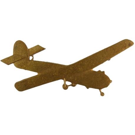 Glider (Staffords / King's Own Royal Border Regiment FR  Brass Regimental metal arm badge