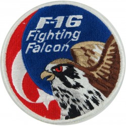 F-16 Fighting Falcon Colour  Embroidered United States Air Force insignia