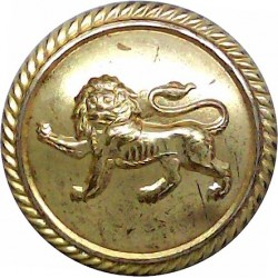 British Petroleum Tankers - Shipping Button - Roped 25mm - 1926-1955  Gilt Merchant Navy or Shipping uniform button