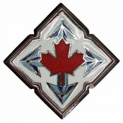 Canadian Forces Mobile Command Breast Badge / Fob  Enamel