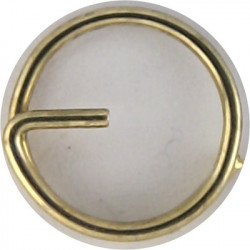 Button Ring To Attach Button To Jacket 12mm Diameter  Metal
