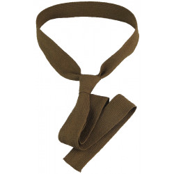 British Army Other Ranks' Brown Khaki Worsted Tie 54 Inches Long  Braid