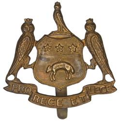 Leeds Corporation Cap Badge City Coat Of Arms  Brass