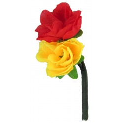 Minden Roses - Royal Anglian Regiment / RRF Red And Yellow  Nylon
