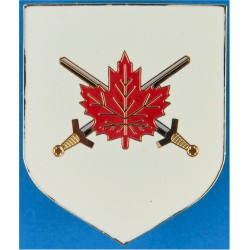 Canadian Forces Land Force Command Breast Badge / Fob  Enamel