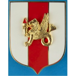 Canadian Forces Admin Human Resources Military Breast Badge / Fob  Enamel