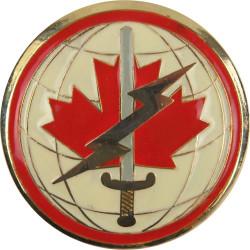 Canadian Forces Information Management Breast Badge / Fob  Enamel