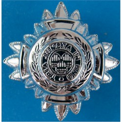 Inspector's Rank Star (pip) 27.5mm Side  Chrome-plated UK Police or Prison insignia