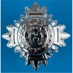 Inspector's Rank Star (pip) 26mm Side  Chrome-plated UK Police or Prison insignia