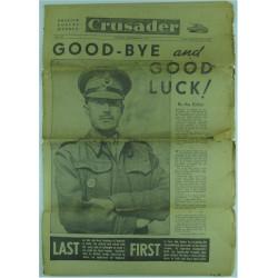 Crusader - British Forces Weekly - Dated 23 Sep 1945    Military Book