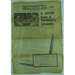 Crusader - British Forces Weekly - Dated 30 Sep 1945    Military Book