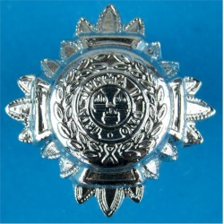 Inspector's Rank Star (pip) 17mm Side  Chrome-plated UK Police or Prison insignia