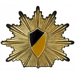 German Police - Baden-W?rttemberg Cap Badge - Pre-2004  Gilt and enamel Overseas Police, Prison or Corrections insignia