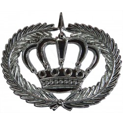 Qatar Police Warrant Officer Class 1 Rank Badge  Chrome-plated Overseas Police, Prison or Corrections insignia