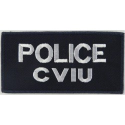 New Zealand - Police CVIU - Commercial Vehicle Investigation Unit  Embroidered Overseas Police, Prison or Corrections insignia