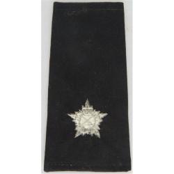 Kuwait Police - Lieutenant Rank Slide  Mylar Overseas Police, Prison or Corrections insignia