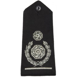 Rank Strap: Deputy Chief Fire Officer Bar/2 Impellers+Wrth  Lurex Fire and Rescue Service insignia