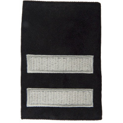 Rank Slide: Sub-Officer - Defence Fire Service 2 Thick Bars: Spaced  Embroidered Fire and Rescue Service insignia