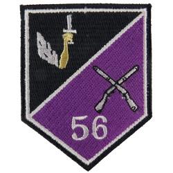56th Reserve Infantry Battalion (2005-2012) Irish Defence Forces  Embroidered Regimental cloth arm badge