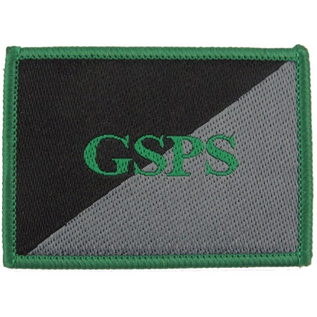 Gurkha Staff And Personnel Support Company - GSPS Subdued  Woven Regimental cloth arm badge