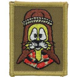 RLC: 11 EOD Regiment (Felix - Cat With 9 Lives) Iraq Version  Embroidered Regimental cloth arm badge