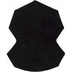 Scottish Yeomanry - 1992-1997 Black Badge-Shape  Felt Badge Backing