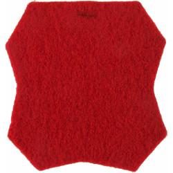 9th London Regiment (Queen Victoria's Rifles) Red Badge Outline  Felt Badge Backing