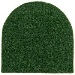 Royal Leicestershire Regiment Green Tombstone  Felt Badge Backing