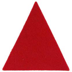 Staffordshire Yeomanry Red Triangle  Felt Badge Backing