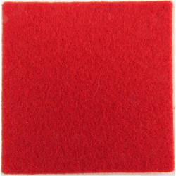 Welch Regiment 45mm Red Square  Felt Badge Backing