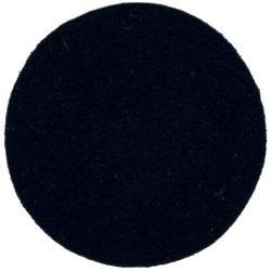 Helmet Plate Centre Backcloth - Non-Royal Regiments 45mm Black Disc  Felt Badge Backing